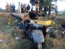 नाशिक : मालेगाव-सटाणा रस्त्यावरील भीषण अपघातात 7 जणांचा मृत्यू
