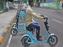 ई-बाइक प्रणालीला नागरिकांची पसंती; २० दिवसांत ९ हजार २०० फेऱ्या पूर्ण