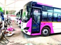 नागपुरात आपली बसच्या ताफ्यात पाच तेजस्विनी बस
