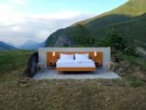'या' हॉटेलला ना छत ना भिंती, एका रात्रीसाठी इतकं द्यावं लागतं भाडं!