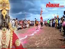 Pandharpur Wari 2018 : माऊलीच्या अश्वाचे पहिले गोल रिंगण