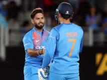 India vs Bangladesh, 1st T20I : रिषभ पंतमुळे DRS गमावला; चाहत्यांनी महेंद्रसिंग धोनी नावाचा गजर केला