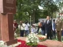 पोलंडवासीयांनी महावीर गार्डन येथील स्मारकाला भेट देवून वाहिले पुष्पचक्र