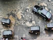 मुसळधार पावसामुळे मुंबई खड्ड्यात