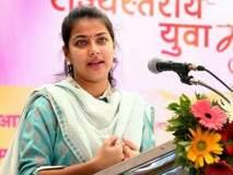 Maharashtra Election 2019; सत्तेची लालसा असती तर कधीच पक्ष सोडला असता : प्रणिती शिंदें