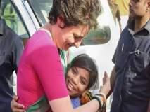 ट्यूमरग्रस्त मुलीच्या उपचारासाठी प्रियंका गांधींची मदत, खाजगी विमानाने दिल्लीला पाठवलं