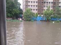 मुंबई, ठाण्यात मुसळधार पाऊस