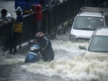 मुंबईची तुंबई! मुसळधार पावसामुळे शहर जलमय