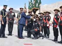राष्ट्रपती रामनाथ कोविंद यांचा लेह दौरा