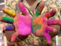 रंग लावण्याच्या बहाण्याने तरुणीचा विनयभंग