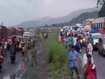 गणेशभक्तांचा खोळंबा, मुंबई-गोवा महामार्गावर वाहनांच्या लांबच लांब रांगा