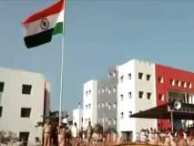 नवी मुंबई : पोलीस मुख्यालयात राज्य मंत्री विद्या ठाकुर यांनी केलं ध्वजारोहण