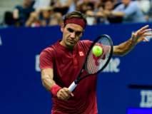 US Open: रॉजर फेडररने पुन्हा पहिला सेट गमावल्यानंतर मारली बाजी
