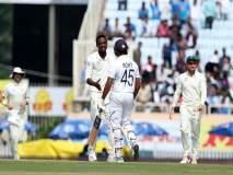 India Vs South Africa, 3rd Test : अंधुक प्रकाशामुळे खेळ थांबला; आफ्रिका 488 धावांनी पिछाडीवर