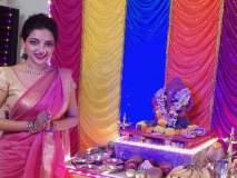 Bigg Boss Marathi 2: रूपाली भोसलेच्या घरचा 'ट्री गणेशा'