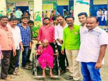 Maharashtra Election 2019 : ११३ वर्षाच्या आजीबाईंनीही बजावला मतदानाचा हक्क; तुम्ही केले का मतदान ?