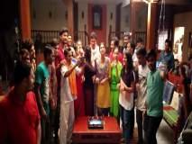 'साजणा' मालिकेने गाठली शंभरी, केक कटींग करत केले सेलिब्रेशन