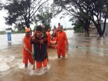 Maharashtra Floods : सांगलीतील जामवाडीमधल्या रहिवाशांना बोटीतून केलं रेस्क्यू