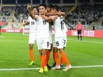 भारताची दमदार विजयी सलामी, छेत्रीची कमाल-टीम इंडियाची धमाल