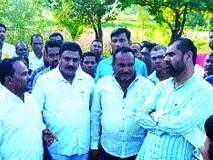 कृषी राज्यमंत्र्यांची वसई तालुक्यात धावती भेट, शेतकऱ्यांसोबत संवाद नाही
