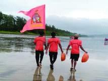 श्रीवर्धनमधील दिवेआगरचा समुद्रकिनारा झाला स्वच्छ