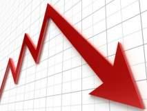 शेअर बाजाराचा सेन्सेक्स 600 अंकांनी कोसळला, निफ्टीसुद्धा 11 हजारांच्या खाली