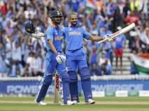 ICC World Cup 2019, IND vs AUS : सारं काही 'विराट'... ऑस्ट्रेलियाविरुद्ध भारताची ऐतिहासिक कामगिरी!