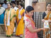 Maharashtra Election 2019; उमेदवारांचं कुटुंब उतरलंय प्रचारात