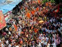 'नरेंद्र सरकार हाय हाय, देवेंद्र सरकार हाय हाय', मुंबईत शिवसेनेची महागाईविरोधात निदर्शनं