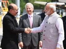 विमानतळावर मोदींचं स्वागत अन् 'हाऊडी मोदी' यशस्वी करणारा तो भारतीय कोण?