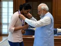 'सुवर्णकन्या' सिंधू भारताची शान; पंतप्रधान मोदींकडून कौतुक