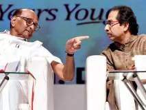 Maharashtra Election 2019 :धरणे भरण्यापेक्षा स्वयंपाक बरा; उद्धव ठाकरेंचा पवारांना टोला