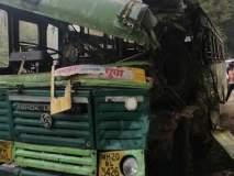 रस्त्याच्या कडेला उभ्या असलेल्या ट्रकला एसटीची धडक ; वाहकाचा जागीच मृत्यू