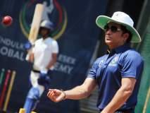 ICC World Cup 2019 : सचिन तेंडुलकरची नवी इनिंग; पाहा फोटो