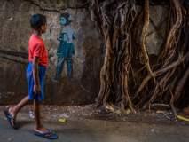 'कला'कत्ता... भिंतीवरचा 'हा' चित्राविष्कार मन मोहून टाकेल!