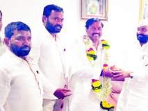 Maharashtra Election 2019; पंढरपुरात येताच सुनील तटकरे भालकेंच्या भेटीला