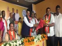 Pune Election 2019 : पुण्यातील भाजपची मेगाभरती सुरूच; शिवाजीनगरमधून सनी निम्हण यांचा भाजपात प्रवेश