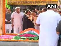 Sushma Swaraj Funeral: सुषमा स्वराज अनंतात विलीन, दिल्लीतील लोधी स्मशानभूमीत अंत्यसंस्कार