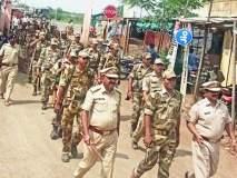 Maharashtra Election 2019; ८ गावात घुमला पोलीसांच्या बुटाचा खडखडाट...
