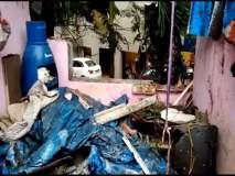 ठाण्यातील गॅस सिलेंडरच्या स्फोटात दोन जण जखमी