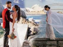 ऐकावं ते नवलच, लग्नाच्या पोशाखातच 33 देश फिरुन हनिमून साजरं