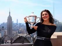 अमेरिकन ओपन विजेत्या टेनिसपटूचा 'Hot' अंदाज; पाहा फोटो