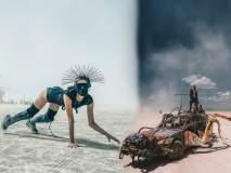 जगातल्या सर्वात क्रेझी Burning Man festival चे फोटो पाहून व्हाल अवाक्