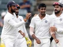 कसोटी क्रिकेटच्या नव्या जर्सीत कसे दिसतात टीम इंडियाचे शिलेदार; पाहा फोटो