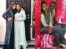 सानिया मिर्झाची बहीण क्रिकेटपटूच्या मुलाच्या प्रेमात