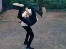 VIDEO : 'या' दोघांचा अतरंगी डान्स पाहून तुम्हालाही हसू आवरणार नाही!