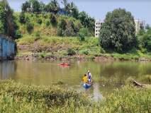 टिटवाळ्यात देवीच्या विसर्जनाला गेलेले चार जण बुडाले