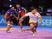 Pro Kabaddi League 2018 :दिल्लीची पुणेरी पलटणवर 'दबंग'गिरी