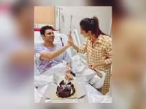 Wedding Anniversary : हॉस्पिटलमध्ये नवऱ्यासोबत दिव्यांका त्रिपाठीनं साजरा केला लग्नाचा वाढदिवस