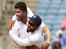 India vs South Africa, 3rd Test : उमेश यादवची षटकारांची आतषबाजी; सचिन तेंडुलकरशी बरोबरी